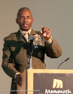 DSES Major General Ronald Bailey