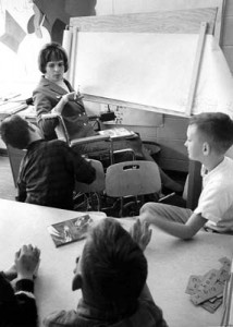 Jill teaching