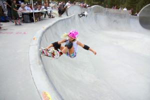 Wave Rave Skateboard competition