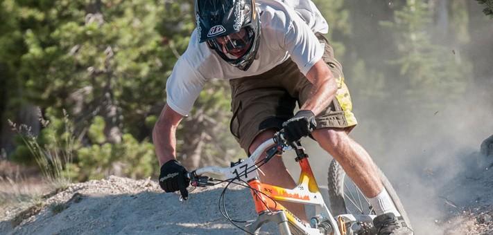 endurance mountain bike ride