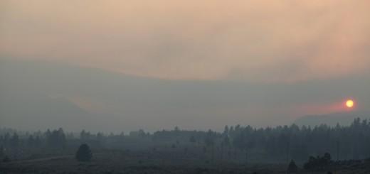smoke, Aspen Fire