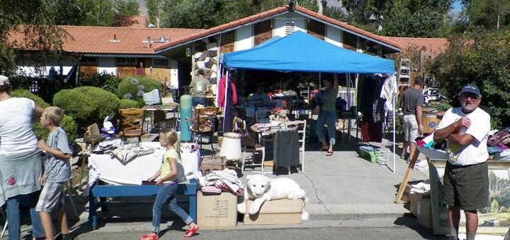 Big Pine Yard Sale