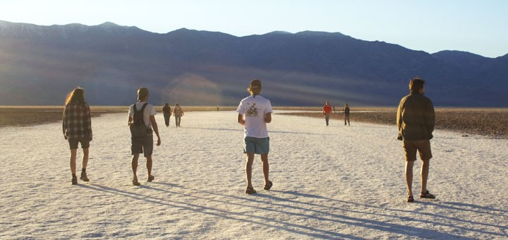Death Valley Badwater Basin. Photo by Katie Vane.