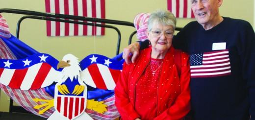 Korean War vet Roy Cratty and wife Carole.