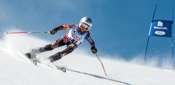 MMST's Anastasia Seator-Braun took two top ten finishes in the U12 Mono Cup super G races.