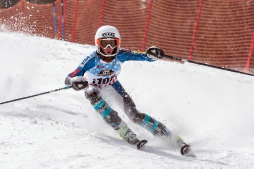 Barrett Calvin took first place in the Far West division at the 2014 USSA/FW U14 Championships. Photo by Susan Morning.