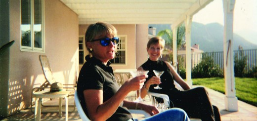 Gooch Ross (left) and her twin sister Mary. Photo courtesy: Gooch.
