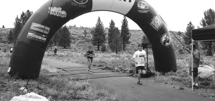 Geisel completing the Footloose 5K two weekends ago. Photo courtesy: Stayden.