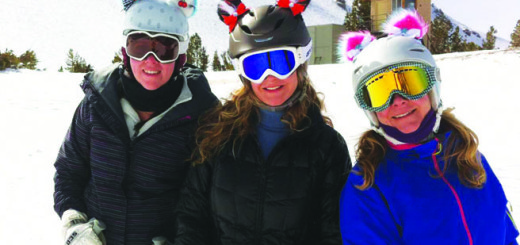 From left: Erin McNulty and Libby's daughters, Windy Henry and Trish Mueller. Photo courtesy: Sheet staff.