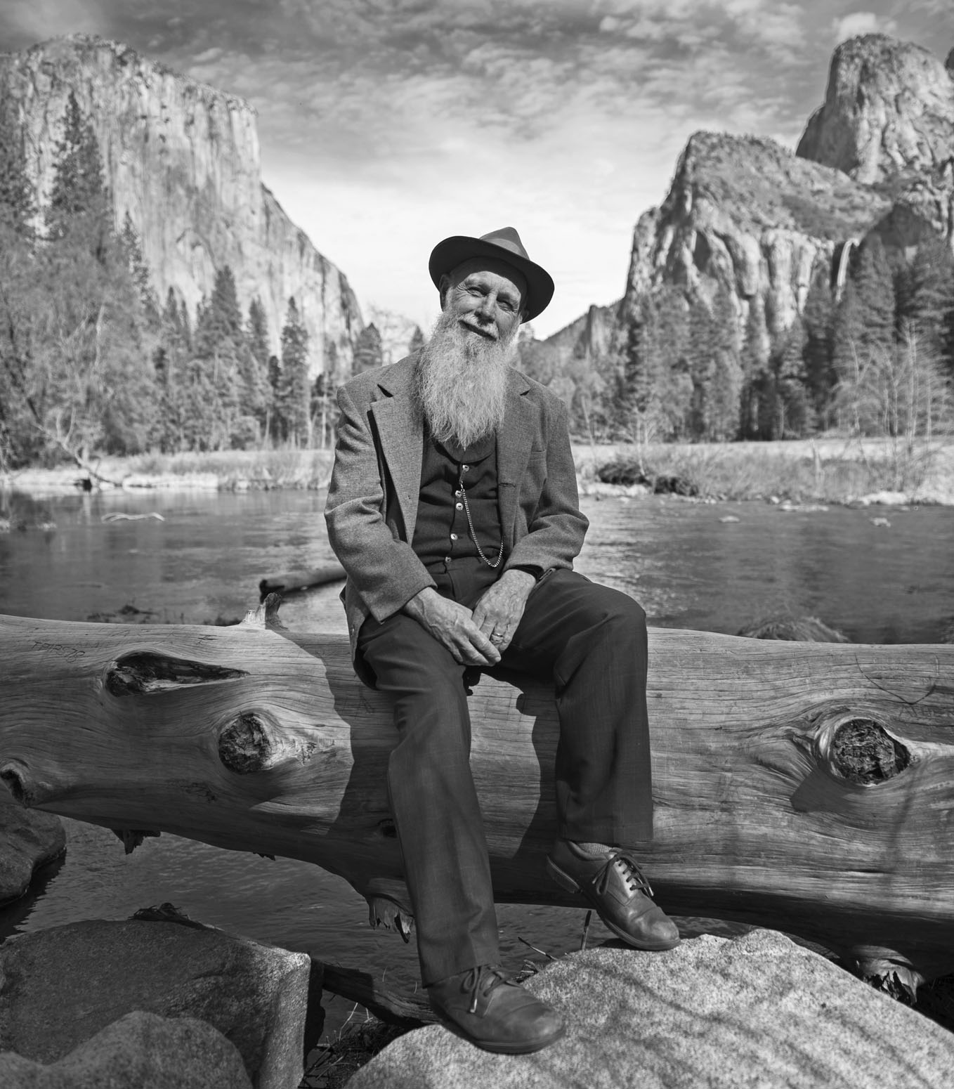 Lee Stetson has portrayed John Muir for 32 years.