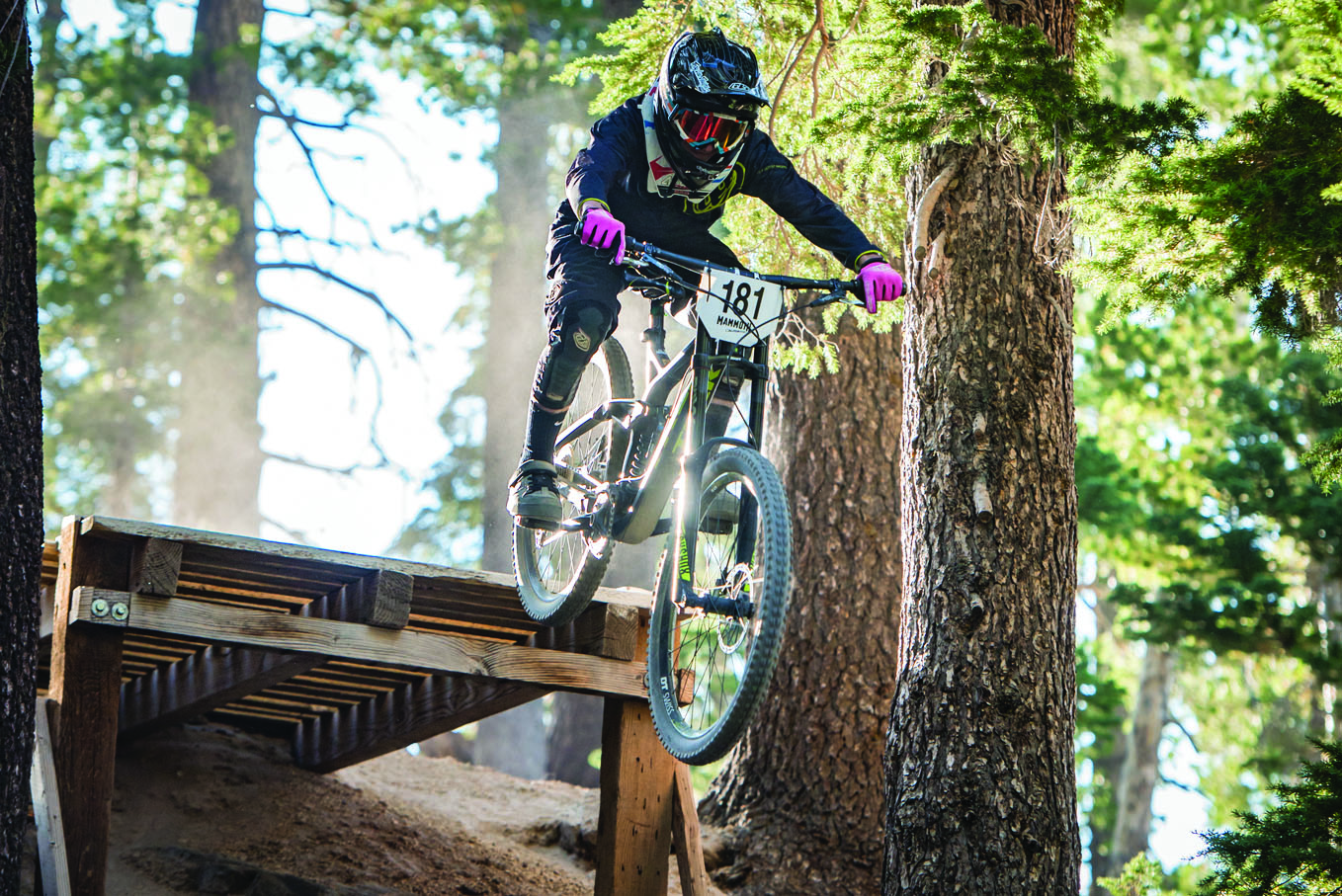15-year old Casey Felgar placed 8th in last Friday's VC race. Felgar, the youngest racer in the event, is a member of the Mammoth Mountain Ski Team. Photo courtesy: Sue Morning.
