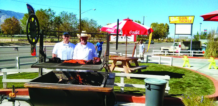 The Ottens, owners of the Copper Top BBQ in Big Pine. Photo courtesy: Bodine.