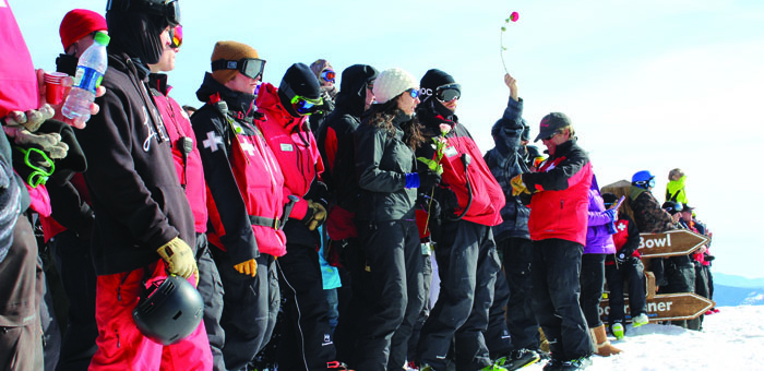 Hundreds gathered on Top of the World on April 6 to remember Scotty Andrews, James Juarez and Walt Rosenthal 10 years after the tragic event that took the three ski patrollers' lives.