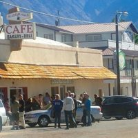#1 Most Popular Restaurant in Lone Pine!  For Sale!  Alabama Hills Cafe. Amazing Opportunity!